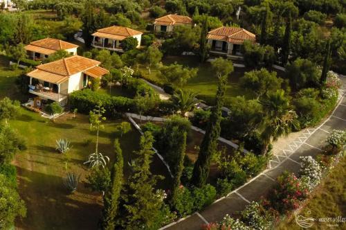 Muses Villas Finikounda aerial view